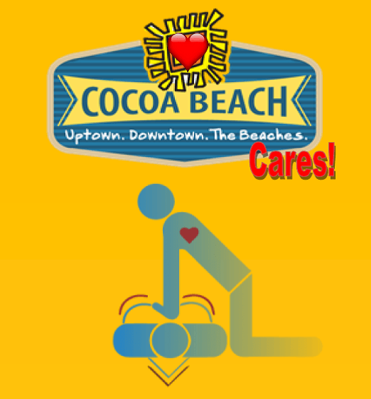 Cocoa Beach Cares logo