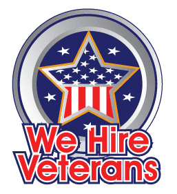 We Hire Veterans Logo Transparent