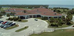 Cocoa Beach Country Club Arial View